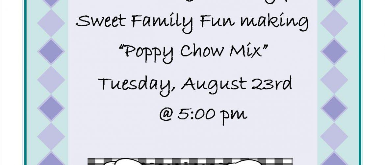 fun eats-PUPPY CHOW