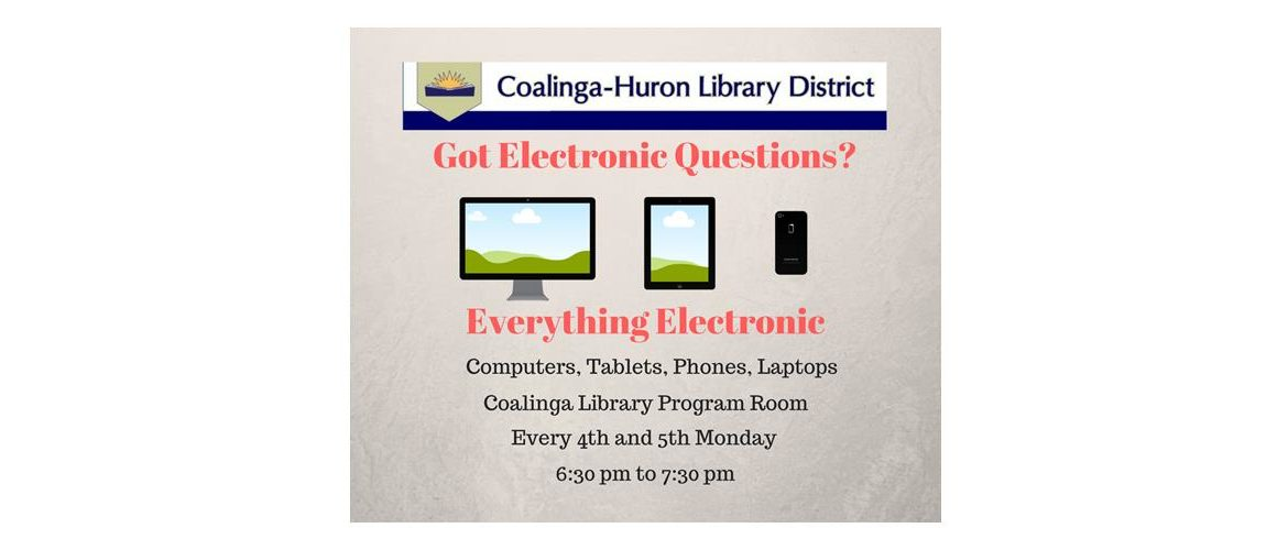 Coalinga huron library district thursdays fandeluxe Images