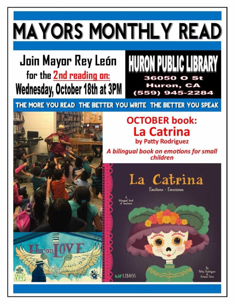 October Mayors Monthly Reading